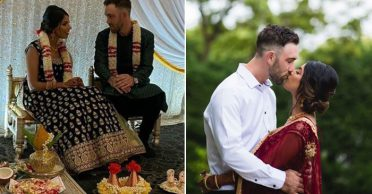Photos & Video: Glenn Maxwell and Vini Raman celebrate their engagement in traditional Indian style