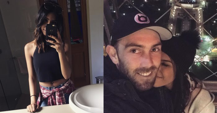 Glenn Maxwell's fiancée Vini Raman shares picture from their Indian engagement