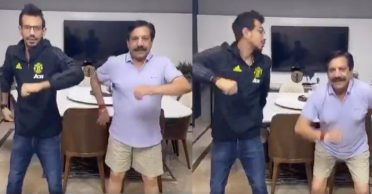 WATCH: Yuzvendra Chahal's first TikTok video with his father
