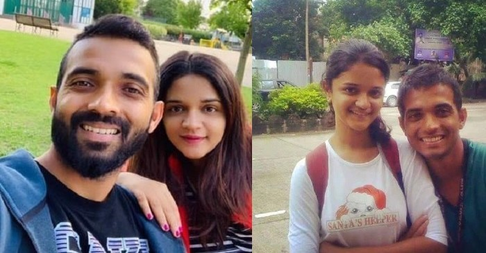 Ajinkya Rahane with wife Radhika Dhopavkar