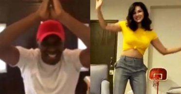WATCH: Dwayne Bravo makes Bollywood actress Sunny Leone dance on his popular songs
