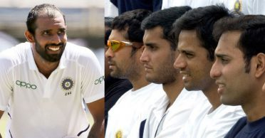 Hanuma Vihari picks his favourite batsman amongst the Fab Four of Indian cricket