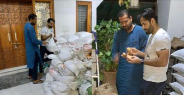 Yusuf and Irfan Pathan distribute 10000 kg rice and 700 kg potato amid COVID-19 pandemic