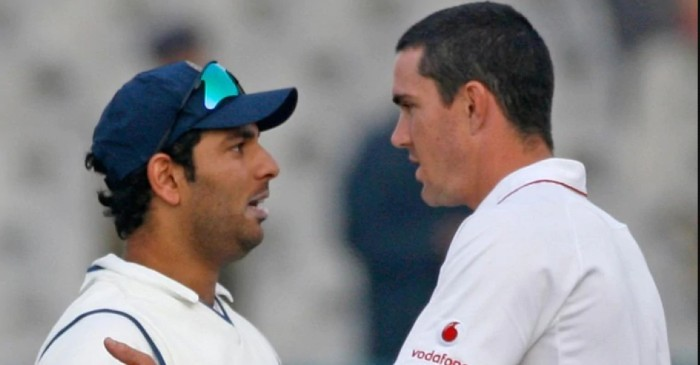 Yuvraj Singh takes a shot at Kevin Pietersen for his 'pie-chucker' comment