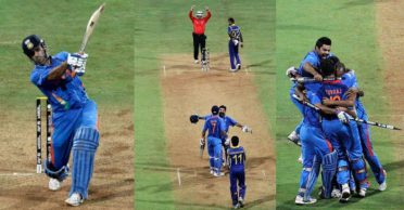WATCH – Today in 2011: MS Dhoni 'finishes off in style' as India lift the World Cup once again after 28 years