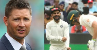 Australian players are scared of sledging Virat Kohli & Co. to bag lucrative IPL contracts, claims Michael Clarke