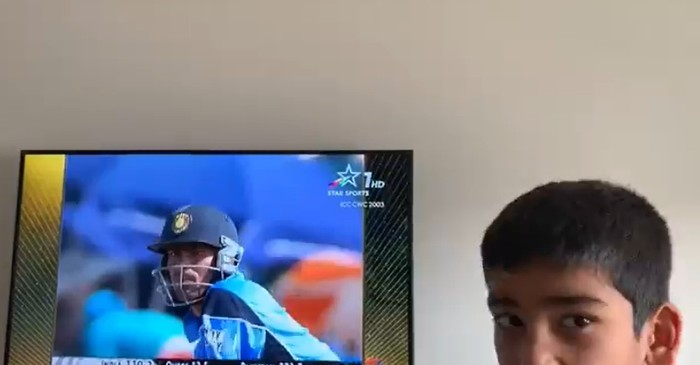 Mohammad Kaif's son reaction