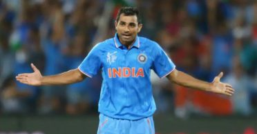 Mohammed Shami describes how he played in the 2015 World Cup with a broken knee