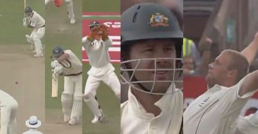 WATCH: Ricky Ponting recalls Andrew Flintoff's fiery reverse swing spell in the 2005 Ashes