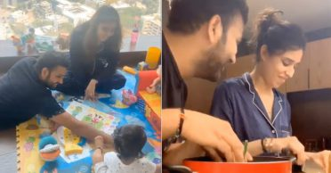 WATCH: Rohit Sharma's whole day routine in lockdown – workout, board game with Samaira, household chores with wife Ritika