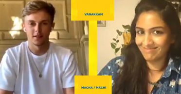 CSK's new recruit Sam Curran tests his Tamil skills during the chat with Rupha Ramani