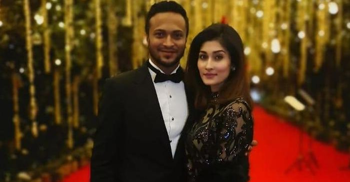 Shakib Al Hasan celebrates birth of his second child with wife Shishir in the USA