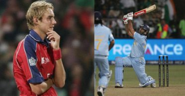 Yuvraj Singh recalls what Stuart Broad's father told him after he hit six sixes in an over