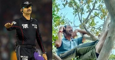 ICC Elite panel umpire Anil Chaudhary stranded in ancestral village; climbs trees for mobile network