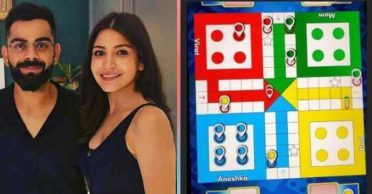 Anushka Sharma reacts hilariously after losing in Ludo to Virat Kohli and family