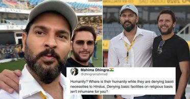 Netizens lambast Yuvraj Singh after his appeal to donate to Shahid Afridi's foundation for COVID-19 relief