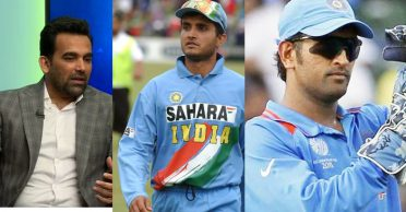 Zaheer Khan reveals the similarities between Ganguly and Dhoni's captaincy