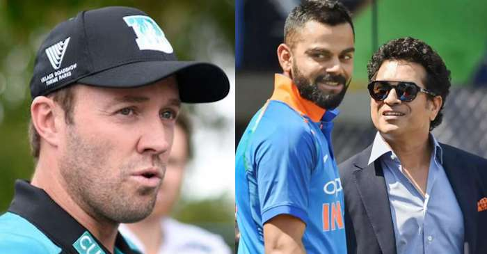AB de Villiers, Virat Kohli, Sachin Tendulkar