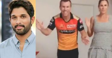 """Allu Arjun reacts to David Warner's dance with wife Candice on """"Butta Bomma"""" song"""