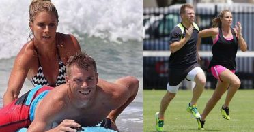 David Warner reveals how wife Candice played a key role in shaping his life and career