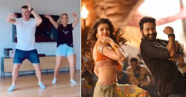 WATCH: David Warner and wife Candice dances on 'Pakka Local' song to wish Jr NTR on his birthday