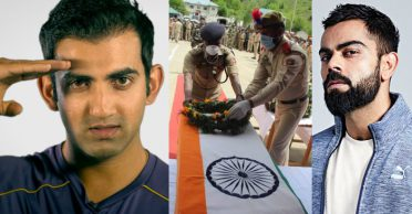 Indian cricket fraternity pays tribute to bravehearts of Handwara encounter