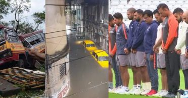 Indian cricketers offer their solace to Cyclone Amphan victims