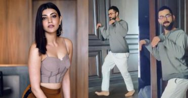 Kajal Aggarwal reacts to Virat Kohli's 'Dinosaur' video shared by Anushka Sharma