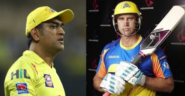 CSK veteran Matthew Hayden reveals MS Dhoni's reaction to the mongoose bat