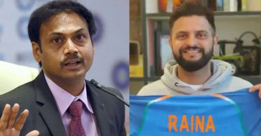 He didn't speak to me at all: Suresh Raina responds to MSK Prasad's claims