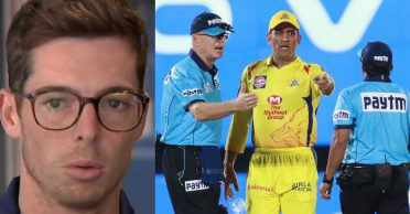 Mitchell Santner opens up on MS Dhoni and umpires row in IPL 2019