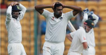 R Ashwin recalls getting angry on Australian batsman and sledging him during Bengaluru Test
