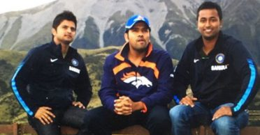 Rohit Sharma takes a dig at his teammate in throwback picture from New Zealand tour