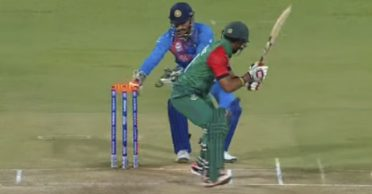 Sabbir Rahman reminisces how he dodged an MS Dhoni stumping in 2019 World Cup