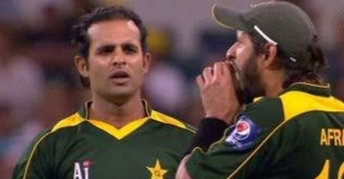 Shahid Afridi and Naved-ul-Hasan