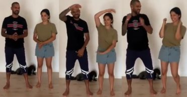 Shikhar Dhawan shares heartwarming dance video with daughter on her birthday; gets a witty reply