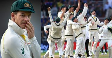 Tim Paine reveals an awkward moment when he 'pooed his pants' during the Ashes victory