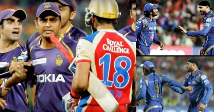 Top 5 ugly fights between cricketers on the field