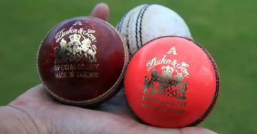 Different types of balls used in international cricket