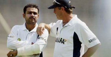 John Wright reveals the funny reason why Virender Sehwag never wanted to visit the gym