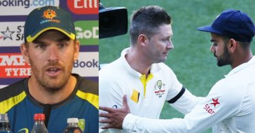 """Aaron Finch rubbishes Michael Clarke's """"Aussies 'sucked up' to India in 2018-19 Test series"""" remark"""
