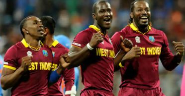 Chris Gayle and Dwayne Bravo back Darren Sammy for his stance against racism during the IPL
