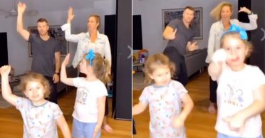 WATCH: David Warner teams up with his family members to perform a 'Bhangra'