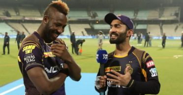 Andre Russell roasts Dinesh Karthik for his new look