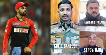 Virat Kohli, Rohit Sharma and other cricketers condole death of Indian soldiers in Galwan valley