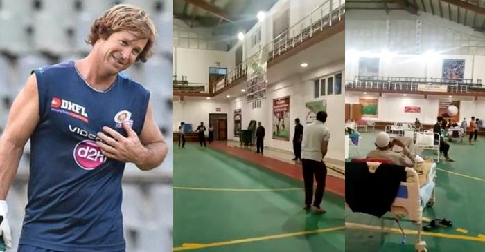 """""""This is why I love India!"""" Jonty Rhodes shares a video clip of people playing cricket in quarantine centre"""
