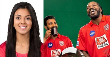 Kings XI Punjab shares gender-swap pictures of KL Rahul, Chris Gayle and other team members