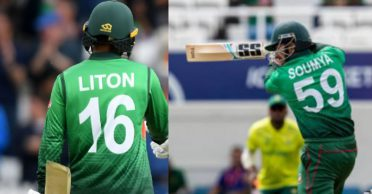 Liton Das and Soumya Sarkar reveal an interesting story behind their jersey numbers