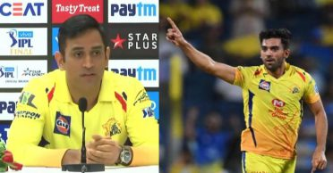'How to get you out?': MS Dhoni gives a witty reply to Deepak Chahar's question