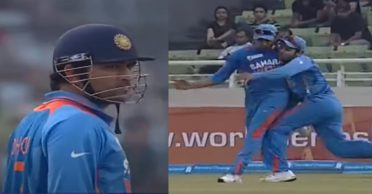 Virat Kohli shares a hilarious incident when MS Dhoni frowned on him and Rohit Sharma for their miscommunication